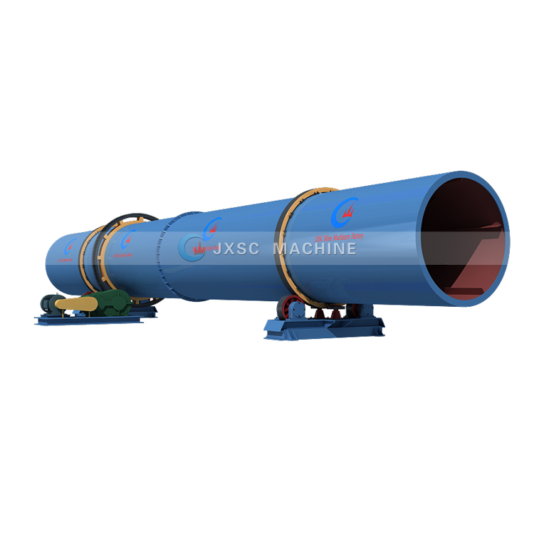 Mineral Ore Rotating Drying Equipment Machine Silica Sand Coal Rotary Drum Dryer