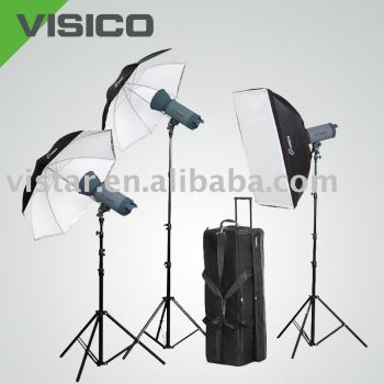 Strobe Light Kit With Wheel Bag