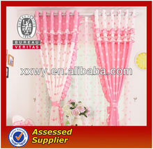 New environmental protection organza curtain modern design in 2013