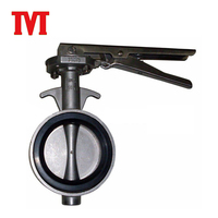 Pneumatic Wafer Type Powder Butterfly Valve