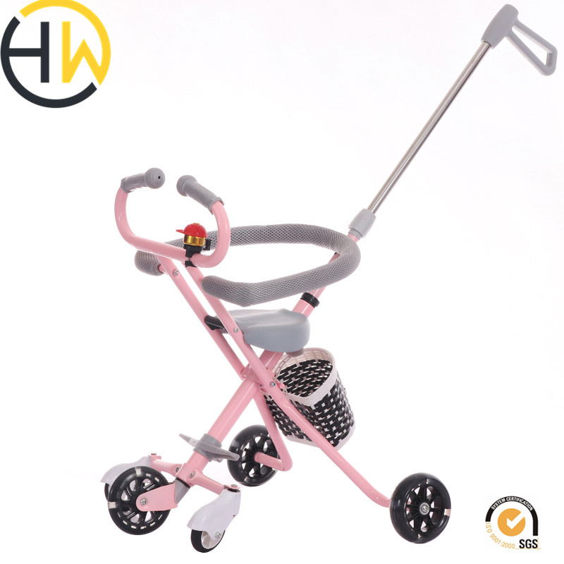 China wholesale 3 wheels new models baby tricycle folding / cheap kids tricycle children / best kids <strong>trike</strong> bikes for sale
