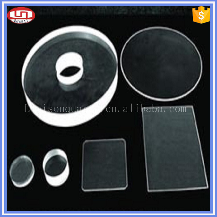 China Quartz Products with hole clear Wholesale galss blocks , blocks glass