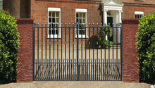components economical iron gate
