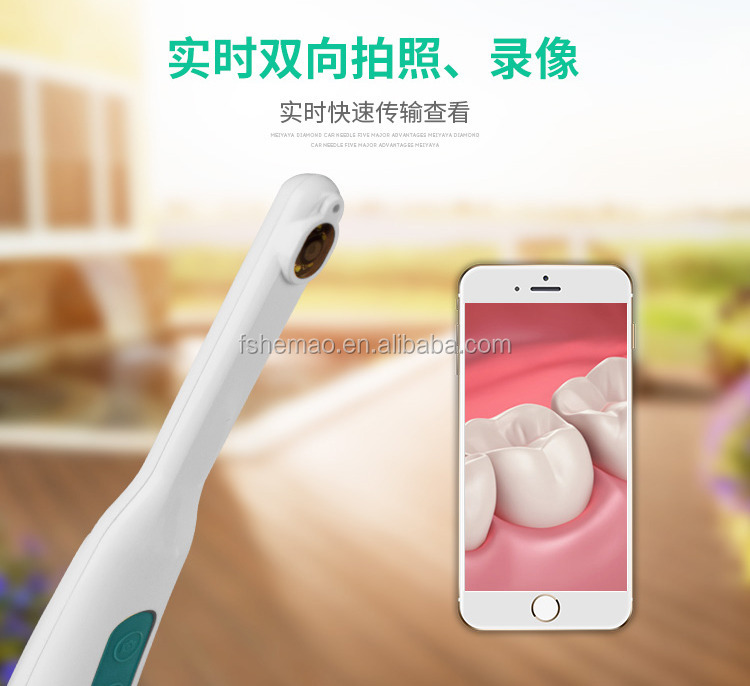 High quality portable wireless WiFi intraoral camera