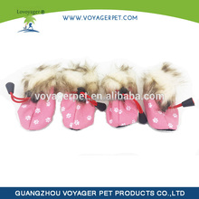 Hot selling winter dog boots in different size