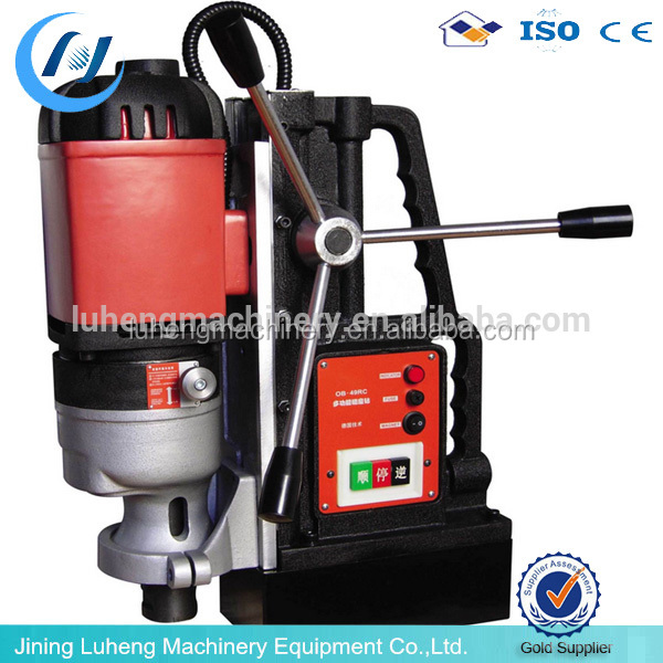 Portable magnetic base drill machine