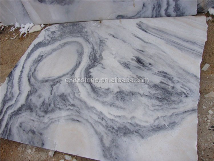 China Grey Marble Polished tiles for flooring and wall cladding