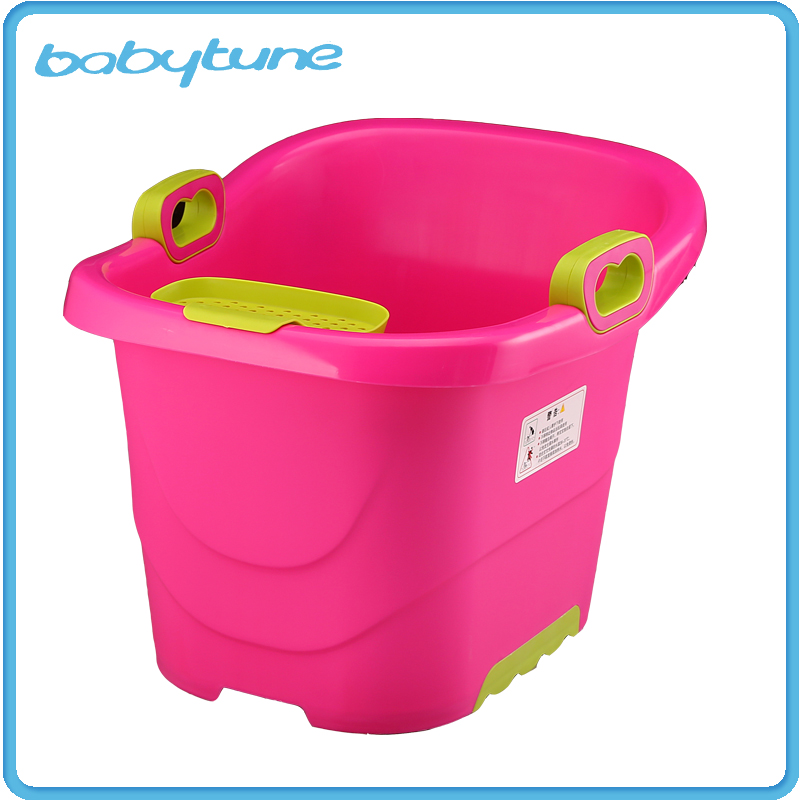 Portable Plastic New Style Cheap Price Infant Bathtub