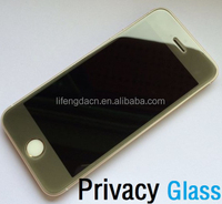 9H 0.21mm Privacy Tempered Glass Screen Protector for iPhone5s 5c 5