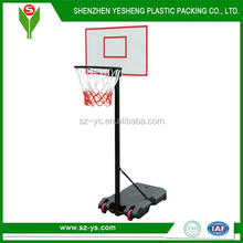 Whole basketball system with basketball stand base portable