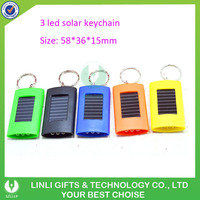 Giveaway Gift Solar Cheap Flashlight Keychain