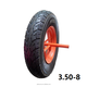 Hot sale durable rubber pneumatic wheel 3.50-8