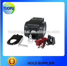 China factory boat trailer electric winch mini 12v electric winch 2000lbs for boat