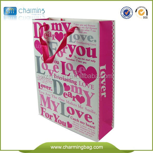 Customized Luxury Promotional Shopping Paper Bag