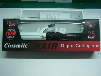 Professional ceramic hair curling iron magic hair curler