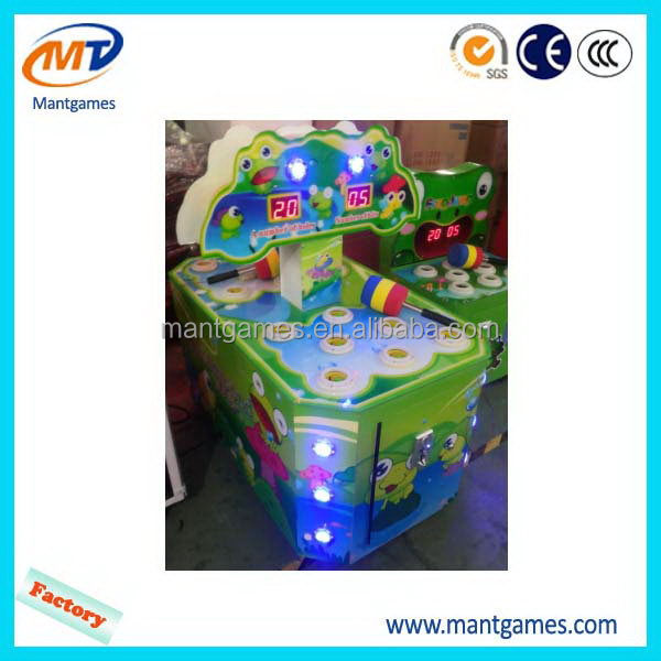 New style 2 players happy frog/hot-sale frog prince indoor game machine
