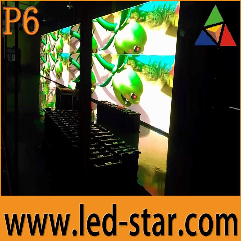 New Trend P6 Animation Software LED Display Outdoor TV