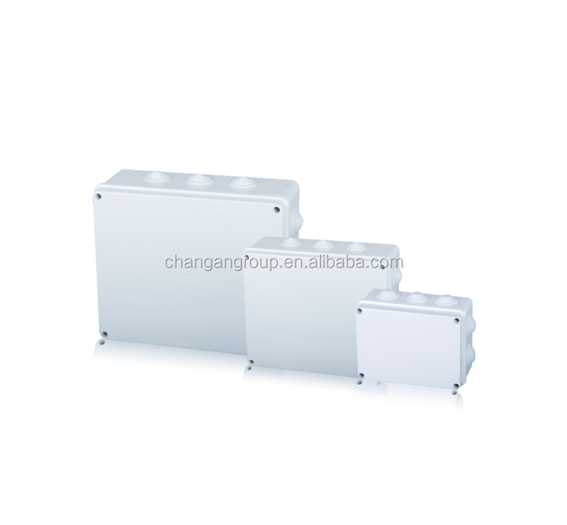 DB White protection electrical plastic junction box IP65 ABS PC material