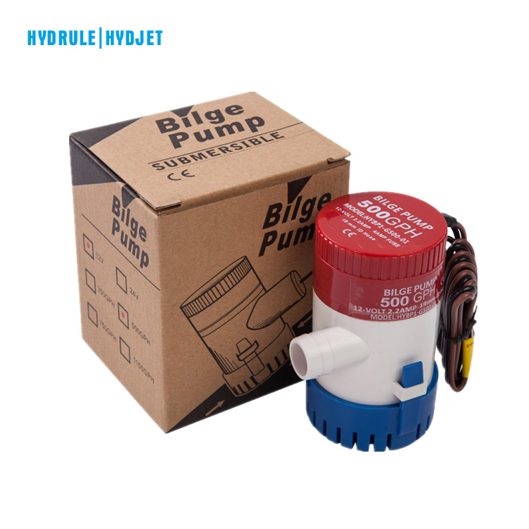 Hydrule dc mini water <strong>pump</strong> 750 GPH submersible sewage bilge <strong>pump</strong> boat bilge <strong>pump</strong>