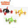 2016 Colorful Palm Size Pocket Drone RC Flying Robot Toy With Hand Throw Fly