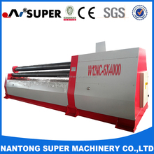 CNC 4 Roller Plate Rolling Machine With Various of Types Description