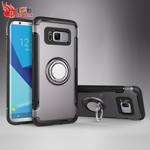 Gorgeous tpu + pc bumper case for samsung galaxy s8 plus back cover