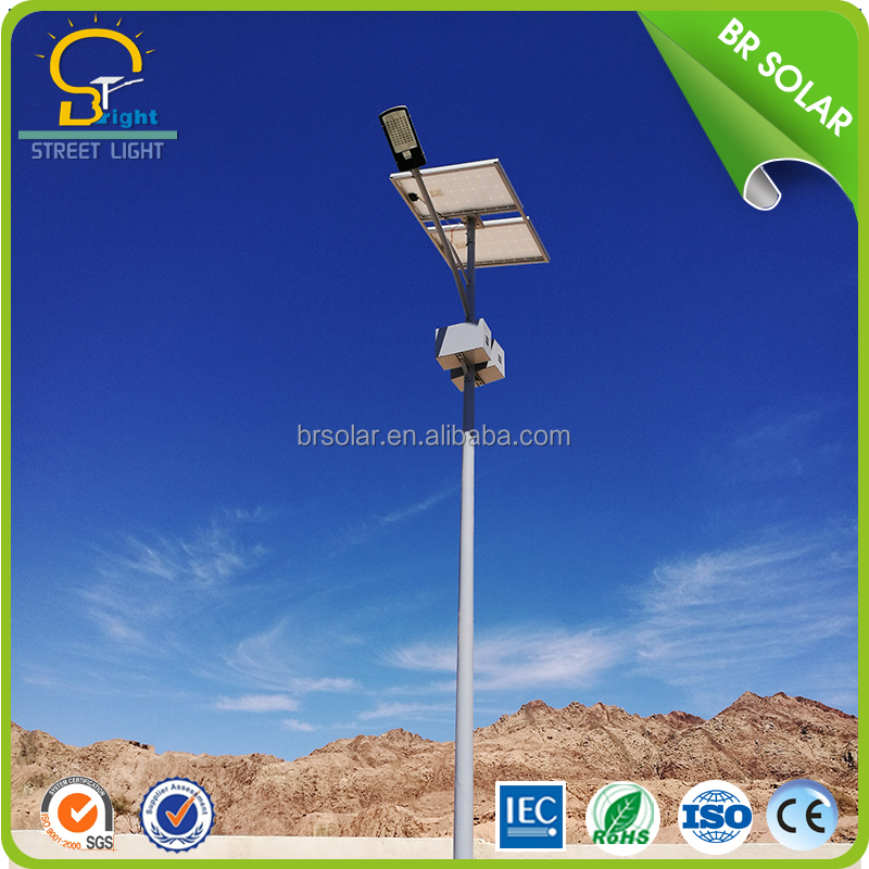 5 years Warranty Applied in 80 Countries ISO IEC CE SONCAP Certificated 60w Solar Powered Energy LED Street Lights Price List