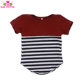 Little Boys Funny Short Sleeve T shirt Toddler Baby Summer Cotton Top