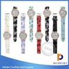 Low price Charm Exporter PU Leather Watch,lady watch,girl watch