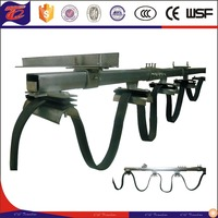 factory price electric crane C-Track festoon cable trolley system