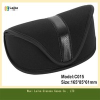 C015 Big Shell Microfiber Eye Glass Bag For Eyewears, Fabric Sunglasses Bag
