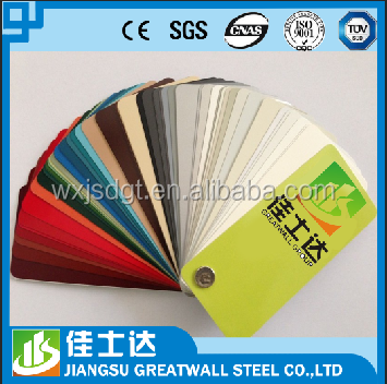 Jiangsu Great Wall GL,GI ,colorful corrugated steels plate PPGI Sandwich panel factory export to Africa,southeaste