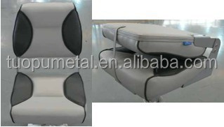 Deluxe fold down seat for marine/ boat /ship/ ferry