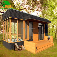 Easy Installation Steel Structure prefab house sunshine cabin garden house