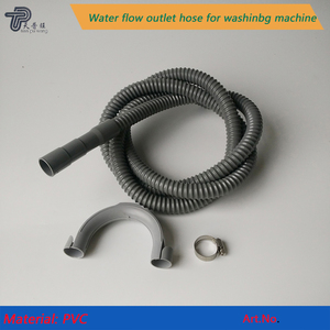 Factory direct PVC flexible drain pipe plastic drainage pipe for Washing machine