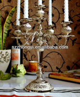 5 Arms Metal Wedding Candelabra Candle Holder
