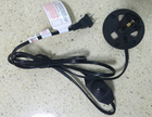 UL lamp cord with on/off switch and E12 holder with big plate