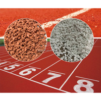 synthetic mixed type rubber running track raw material for university school kindergarten field rubber granules