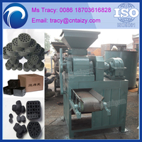 Semi-automatic Honeycomb Coal Briquette Molding Machine With ISO & CE