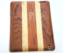 Wholesale hard real wood cell phone wooden case for ipad,wood phone back cover case