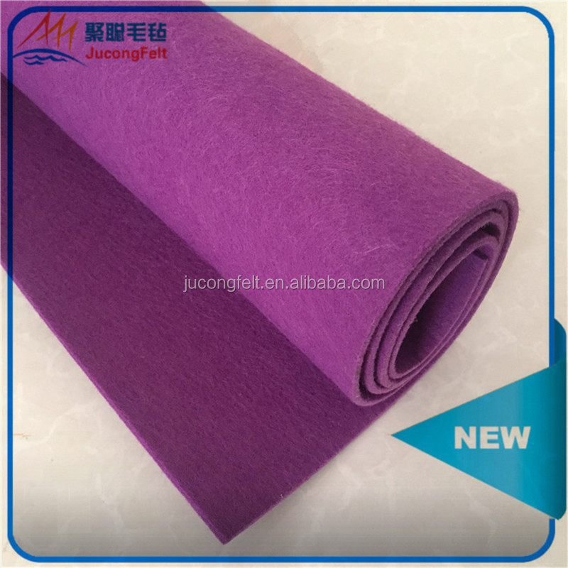 Polyester dryer felt for paper mills with different color and thickness