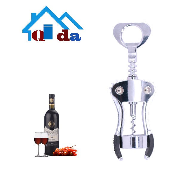 2018 Hot Sale Kitchen Accessories Premium Custom Opener Parts Zinc Alloy Wine Opener