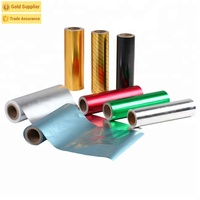 Metallized wrapping transfer holographic laser paper for packaging