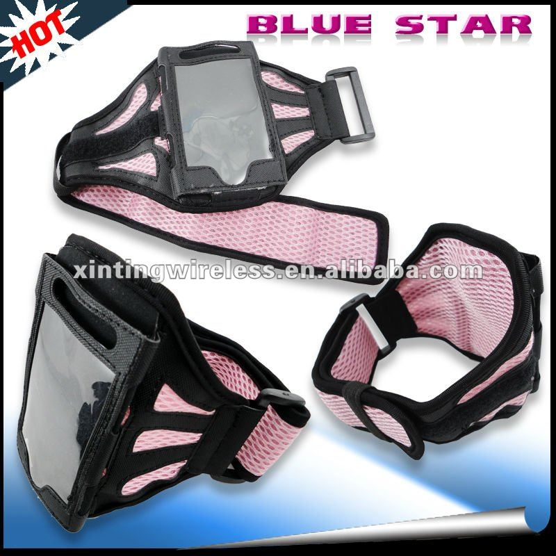 durable pink armband for iphone/ipod touch 4