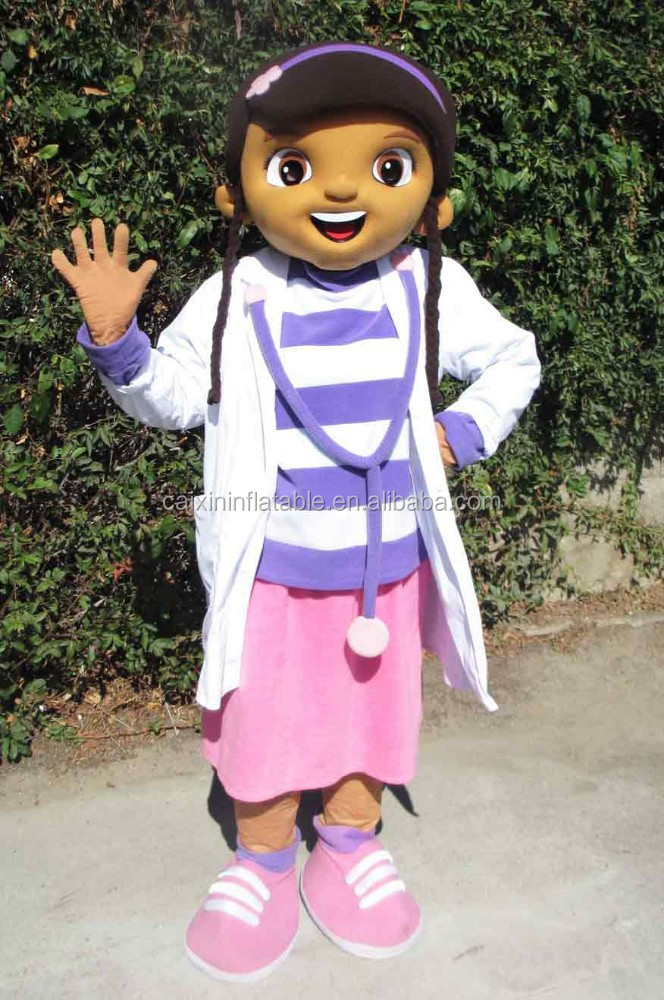 hot sale adult doc mcstuffins mascot costume