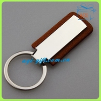 new design handmade leather keyring