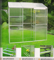 COLD ALUMINUM WONDELFULL ,polycarbonate frame green house