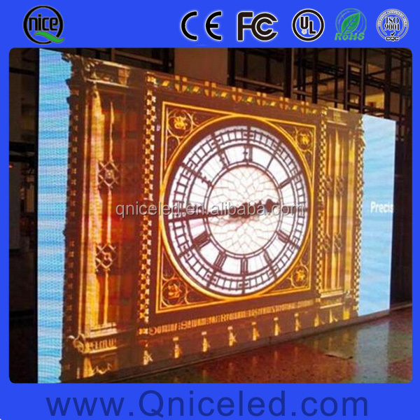 High quality high resolution HD TV Studio LED Video Wall P1.56, P1.66, P1.92, P2 Indoor tv studio backdrop led display screen