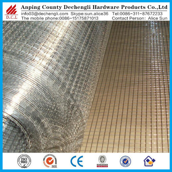 hardware cloth 1/2 3/4 1 inch Welded wire mesh