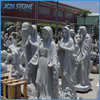 Hand carving best granite angel statues wholesale